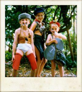 The Horsley children