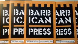 Barbican Press catalogue
